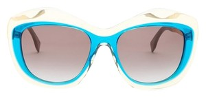 Fendi Women's Color Block Oversize Cat Eye Sunglasses