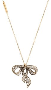 Marc Jacobs Marc Jacobs Charm Bow Necklace