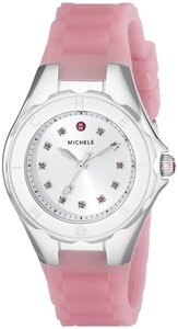 Michele NWT Michele Tahitian Petie Jelly Bean Topaz dial watch $300+TAX