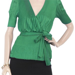 Diane von Furstenberg Top Green - Emerald