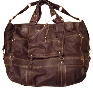 Laundry by Shelli Segal Expresso Brown Travel Bag