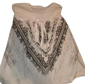 Arizona white and grey Halter Top