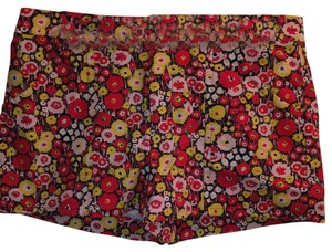Kate Spade Dress Shorts Red, yellow and white floral