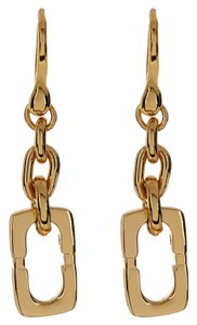 Diane von Furstenberg Diane von Furstenberg Double Drop Chain Link Earrings
