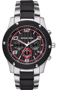 Michael Kors MICHAEL KORS Caine Black Dial Chronograph Men's Watch