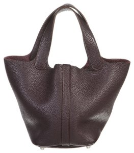 Hermes Tote in Purple
