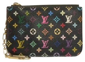 Louis Vuitton Black Grenade Multicolour Cles (Key/Coin Pouch)