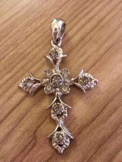Other Bling Cross Pendant Charm Sparkly