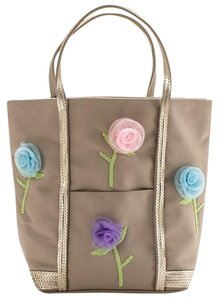 Timmy Woods Embellished Canvas Tote