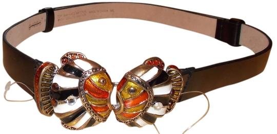 Chico's Chico's kissing fish belt/ SM