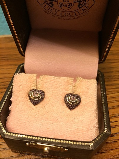 Juicy Couture Purple Heart Juicy Couture Studs
