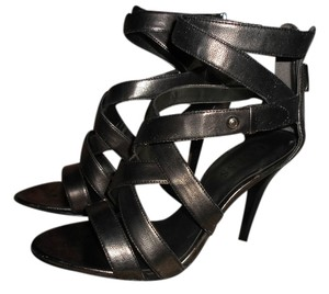 Guess SILVER DARK METALLIC Sandals