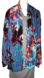 Jones New York Jones New York velvet burnout wrap scarf