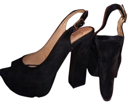 Dollhouse Black Platforms