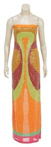 Orange Multicolor Maxi Dress by Missoni