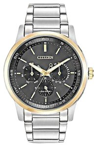 Citizen Citizen Eco Drive - Mens Stainless Steel Watch - Bu2014-56e
