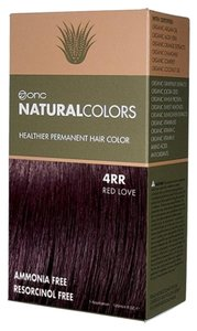 ONC Natural Colors 4RR Red Love Hair Dye with Organic Ingredients