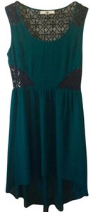 Ya Los Angeles short dress Green Emerald on Tradesy