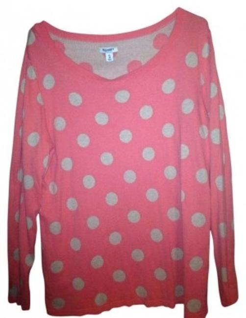 Preload https://img-static.tradesy.com/item/183377/old-navy-coral-with-brown-polka-dots-activewear-size-18-xl-plus-0x-0-0-650-650.jpg