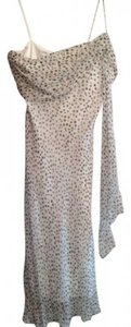 White House | Black Market Prom Sorority Fashion And Dots Dotted Silk Silky Summer Dress