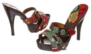 Givenchy Red/Multicolor Sandals