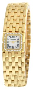 Cartier Authentic Lady's Cartier Ruban 2421 Diamonds 18K Yellow Gold MOP