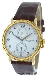 Patek Philippe Men's Patek Philippe Travel Time 5034 Two Time Zone 18K Gold $20000