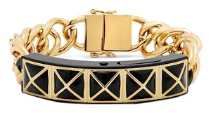 Rebecca Minkoff New! Smartphone Notification Gold Chain Link Bracelet