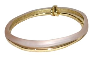 Alexis Bittar NEW Alexis Bittar Paired Lucite Gold Bangle Bracelets SUNSET BLUSH