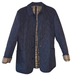 Burberry Quilted Jack Blue Jacket
