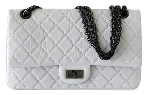 Chanel 2.55 Leather Vintage Shoulder Bag