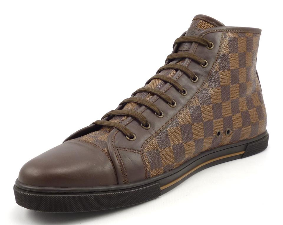 dbba9cc785ce Louis Vuitton Mens Lv Mens Damier Canvas Mens Sneaker Brown Athletic Image  11. 123456789101112. 1 ∕ 12