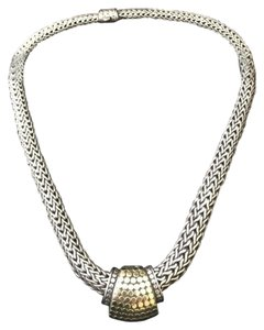 John Hardy John Hardy Silver and Gold Dot Necklace