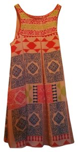 Anthropologie short dress Multi Swing Amalie on Tradesy