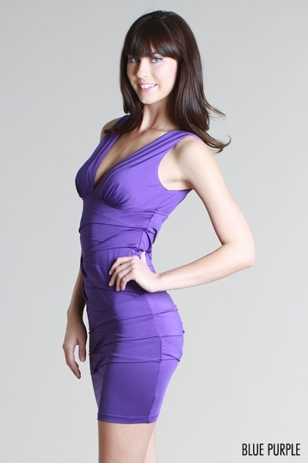 Nikibiki Blue Bodycon Dress