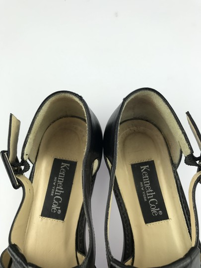 Kenneth Cole Leather Kiltie Two-tone Vintage Loafer Black/White Flats Image 6