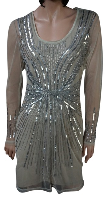 Preload https://img-static.tradesy.com/item/1834357/h-and-m-nude-and-silver-limited-edition-beaded-sequin-formal-above-knee-cocktail-dress-size-8-m-0-0-650-650.jpg