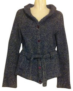 Anthropologie Sleeping On Snow Belted Cardigan Sweater