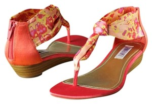 Jennifer Lopez Coral/Multi Sandals