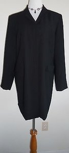Norton McNaughton Dress Coat Black Jacket