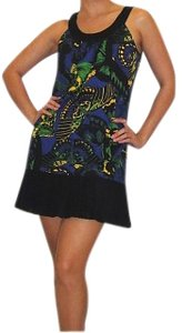 Betsey Johnson short dress Black / Blue on Tradesy