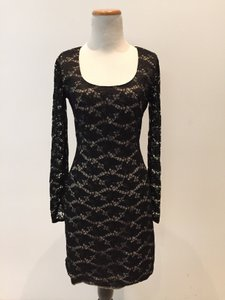Black Halo Halo Lace Dress