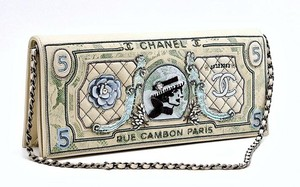 Chanel Dollar Lace Multi Clutch