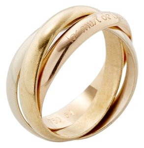 Cartier Cartier Trinity 18k Gold Ring Size 4/47