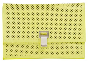 Proenza Schouler Yellow Clutch