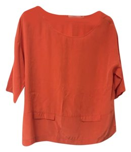 Robert Rodriguez Top Orange