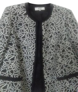 Jones New York Black/White Blazer