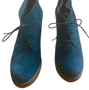 Cole Haan Blue Mules