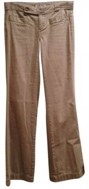 Anthropologie Wide Leg Pants Khaki