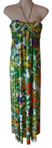 Multi Maxi Dress by T-Bags Los Angeles Lightly Worn